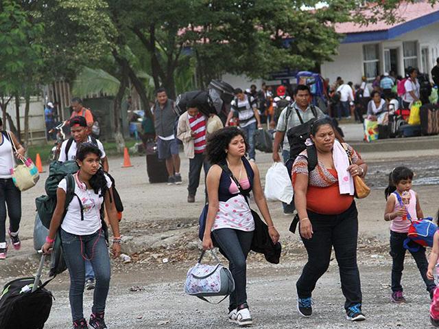 Desde el inicio de la crisis al menos 23,000 nicaragüenses intentaron obtener asilo. Foto La Nación