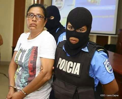 """Olesia Muñoz, ciudadana acusada de """"terrorista"""". Foto: El 19 Digital"""
