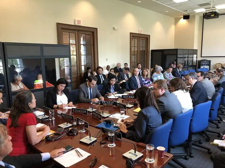 Instalan Grupo de Trabajo para Nicaragua ordenado por la OEA a pesar de pataletas de Ortega