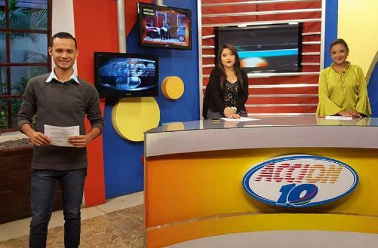 Gobierno de Daniel Ortega intenta apropiarse del sistema informativo de Canal 10. Foto tomada de Facebook