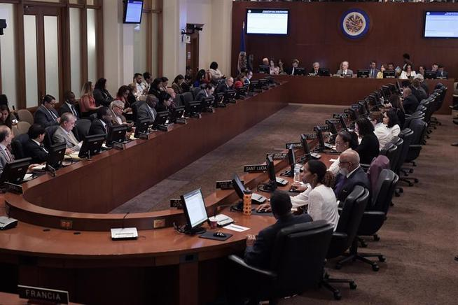 Estos son los miembros del Grupo de Trabajo designado por la OEA que dará seguimiento a situación de Nicaragua. Foto tomada de Internet