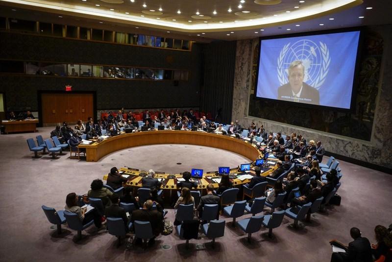 Consejo de Seguridad de la ONU. Foto: Europa Press
