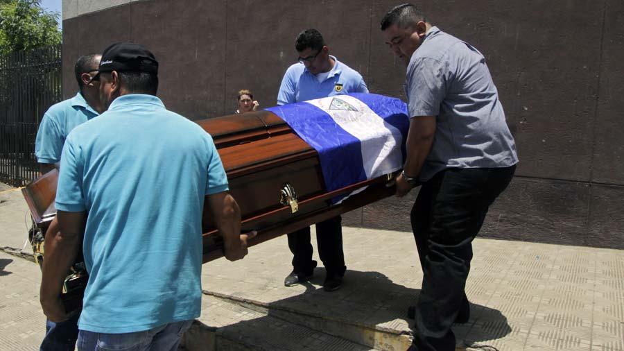 Gobierno de Daniel Ortega maneja tres listas de asesinatos entre el 19 de abril y 25 de julio. Foto: AFP