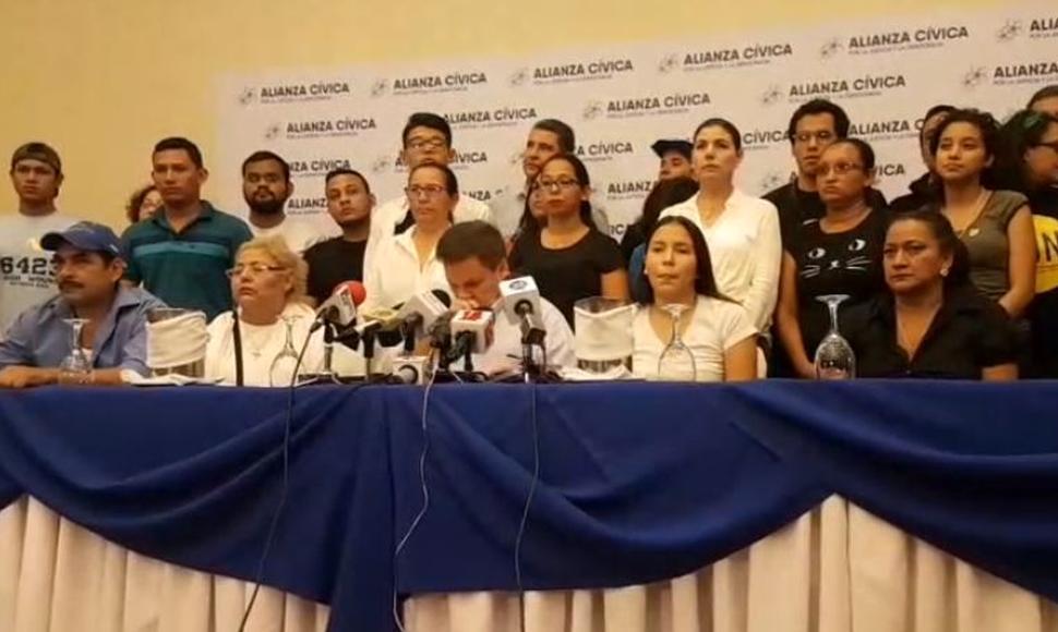 Alianza Cívica llama a gran marcha nacional por la libertad de los presos políticos. Fotos/END