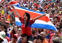 Costa Rica y Nicaragua, unidos por el fútbol. Foto/Diez.hn