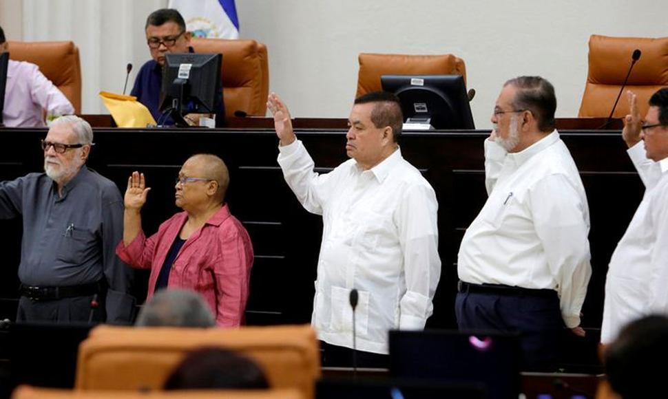 Comisión de la Verdad conformada por la Asamblea Nacional. Foto: El Nuevo Diario
