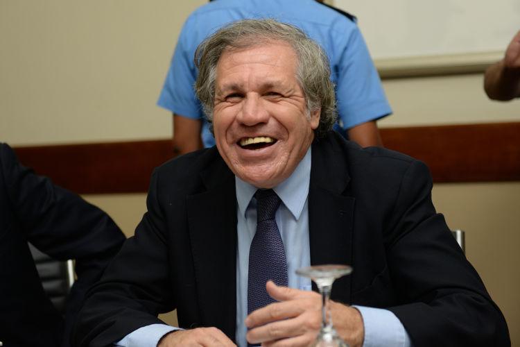 Luis Almagro, secretario general de la Organización de Estados Americanos. Lissa Villagra/ LA PRENSA.