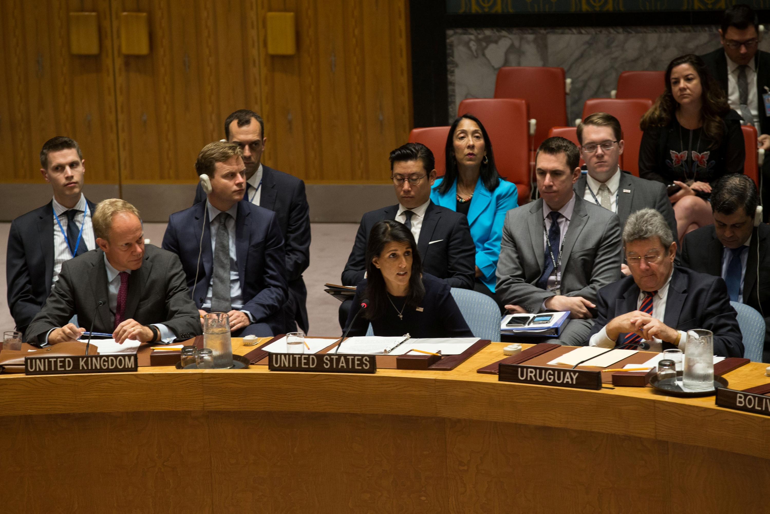 Consejo de Seguridad de la ONU. Foto: Diario Público