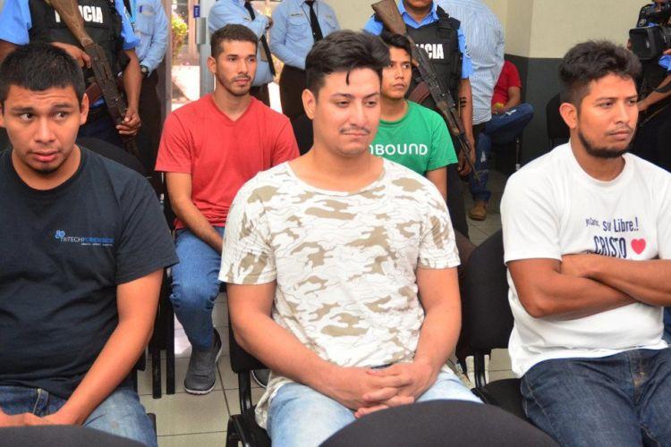 Edwin Carcache, una semana después de ser detenido ilegalmente, es presentado en audiencia preliminar. Foto: tomada de La Prensa