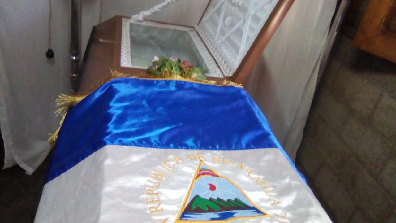 Fallece ciudadano de Masaya al que la policía orteguista le disparó en el cuello durante ataques de junio. Foto: N. Pérez / Artículo 66
