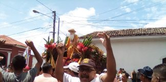 Orteguismo mide fuerzas con la Iglesia Católica en celebración de San Jerónimo. Foto: N. Miranda / Artículo 66