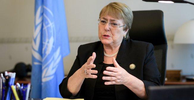 Michelle Bachelet, actual Alta Comisionada para los derechos humanos de la ONU. Foto: France24