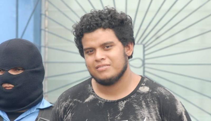 Heynard Josué Baltodano Escobar, quien también es señalado de terrorismo. Foto/Barricada