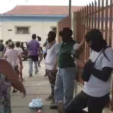 Paramilitares tenían tomada Diriamba y Jiinotepe tras destruir los tranques. Foto: tomada de internet