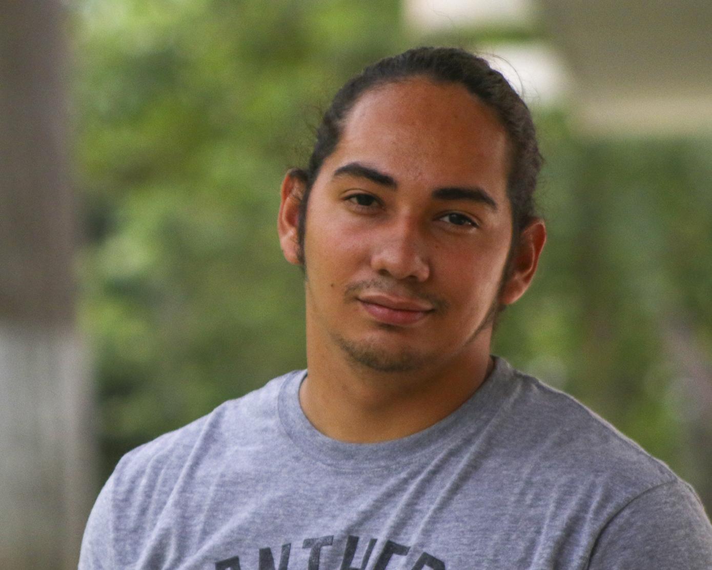 El estudiante que bautizó a Ortega como «el carnicero del Carmen», logro escapar de la dictadura. Foto/Maje