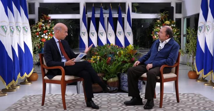 Daniel Ortega añora reunirse con el jefe del imperio Donald Trump