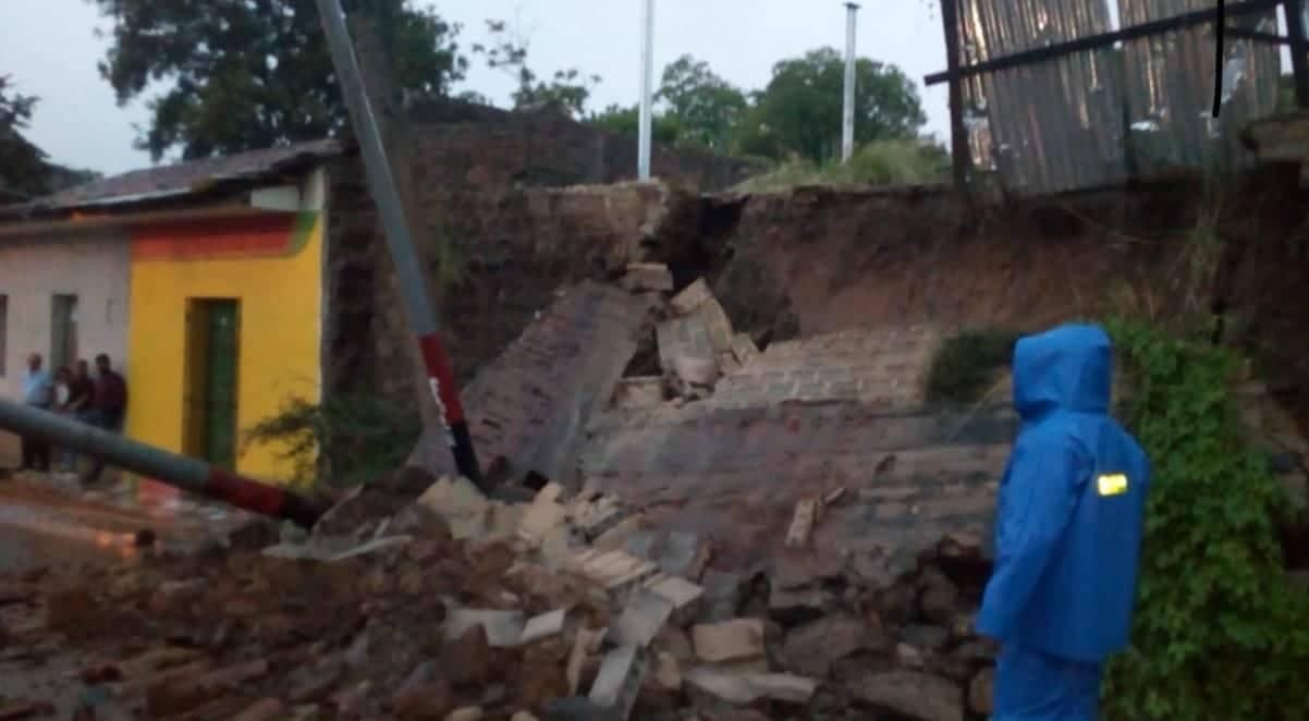 Lluvias causan daños en más de 1 200 viviendas del Pacífico de Nicaragua. Foto: Cortesía / Artículo 66