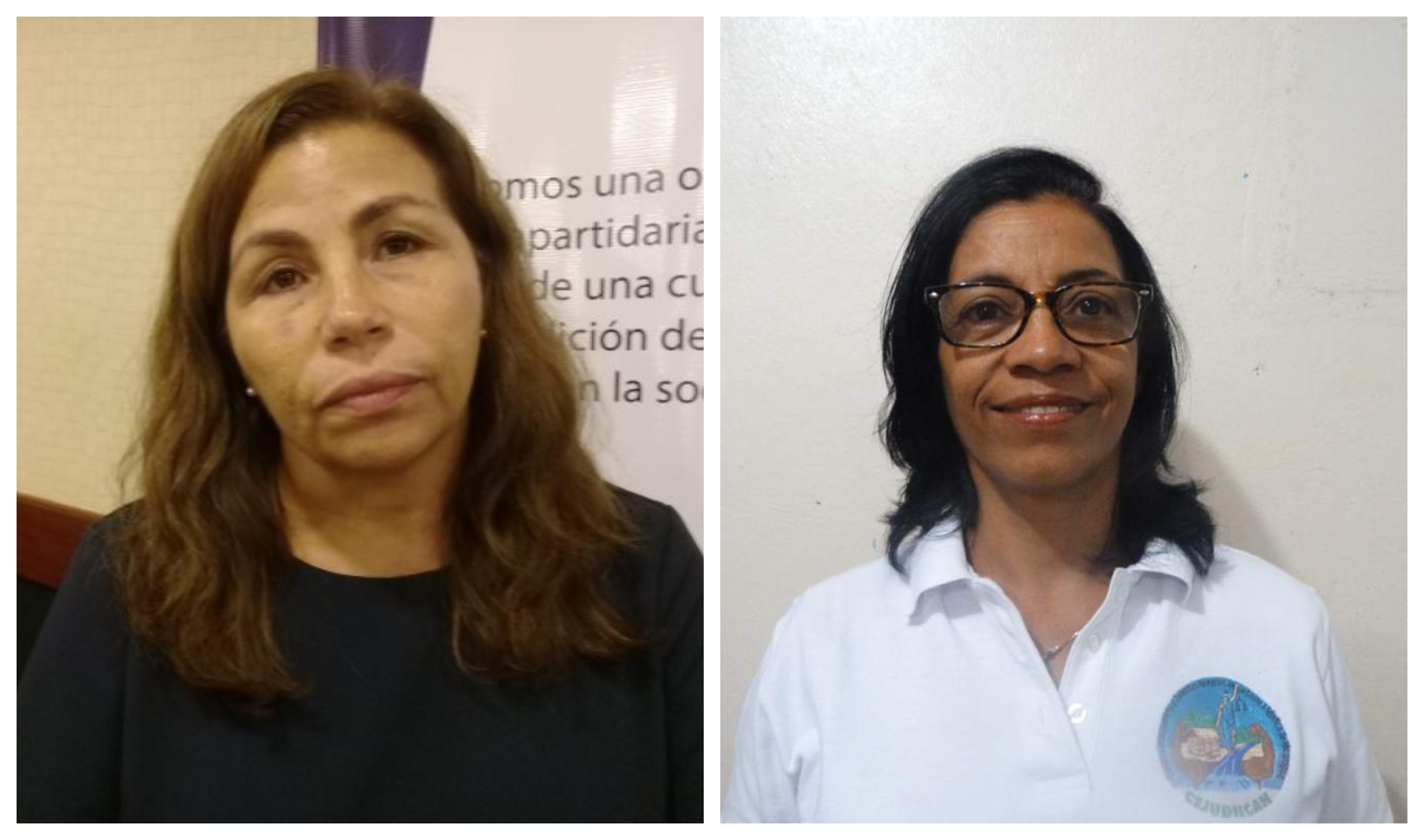 Bajan de un avión de Américan Airlines y detienen a las defensoras de derechos humanos Haydee Castillo y Lottie Cunningham