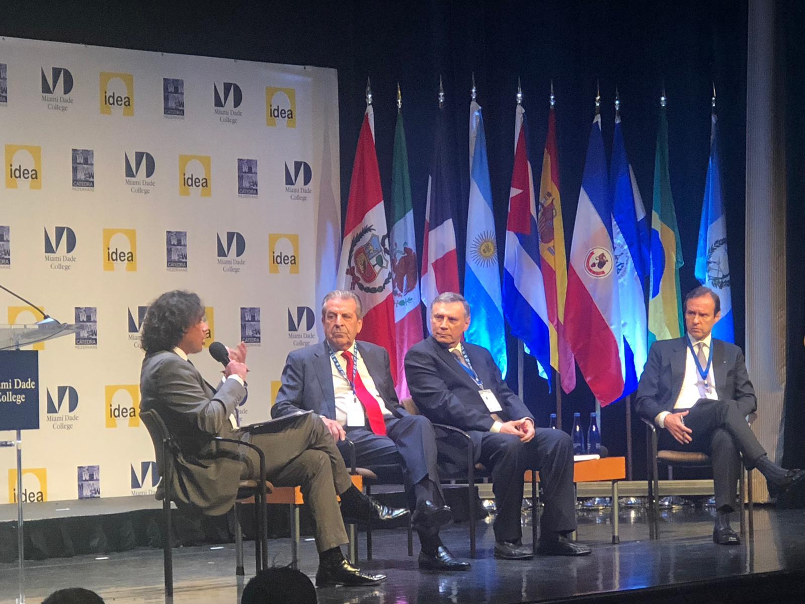 Jorge Quiroga expresidente de Bolivia llama a la OEA a aplicar la Carta Democrática a la dictadura orteguista. Foto/Cortesía