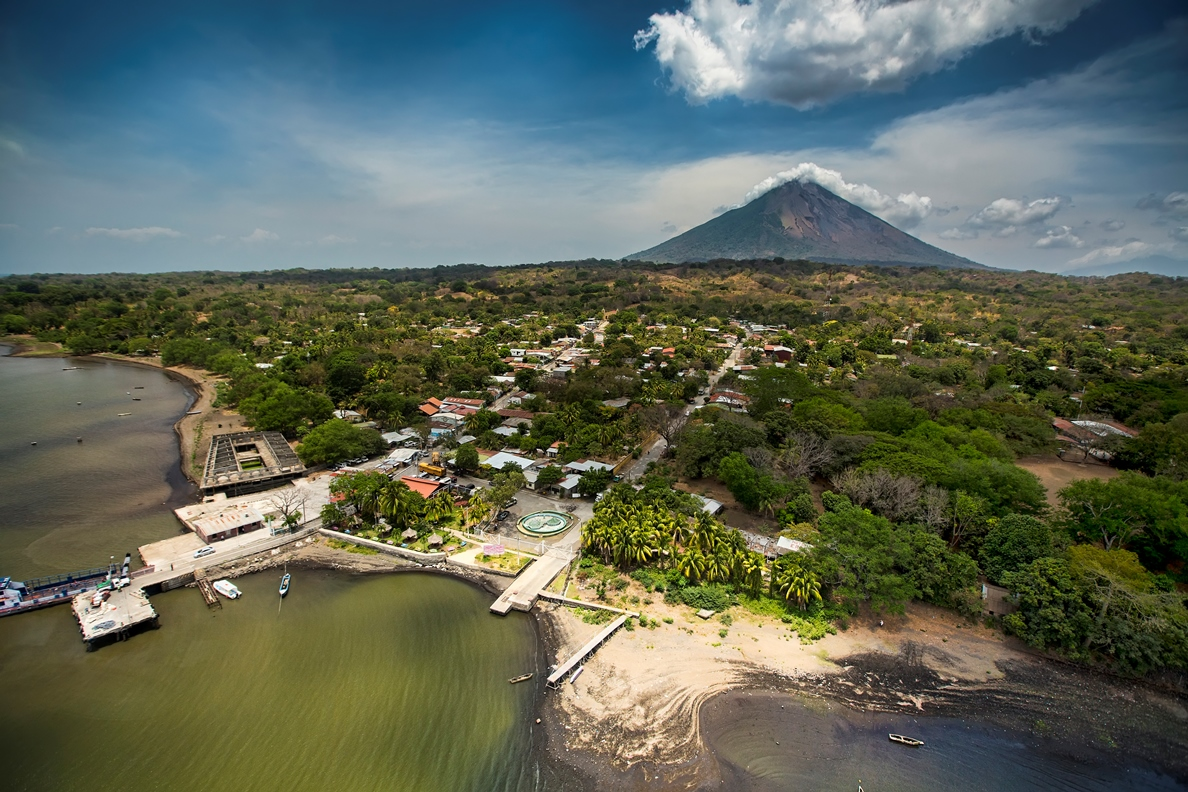 La Isla de Ometepe convertida en oasis de paramilitares, antimotines y secuestros. Foto/VisitaNicaragua