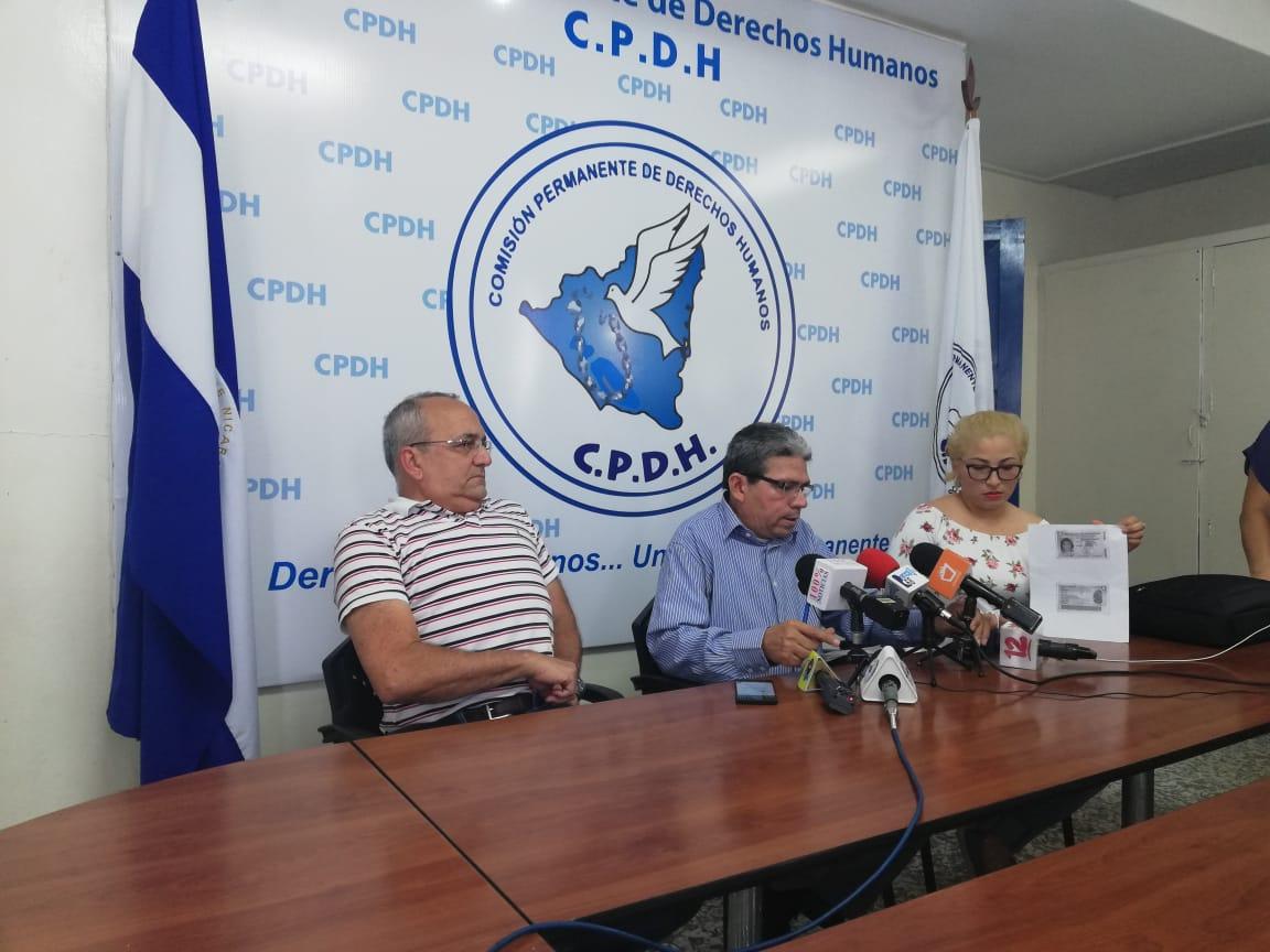 Policía Orteguista secuestra a testigo clave en el caso de los promotores de la CPDH.Foto/Artículo66