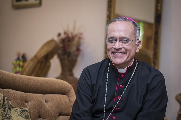 Ataques contra el obispo Silvio Báez incluyen petición de exilio. Foto: La Prensa