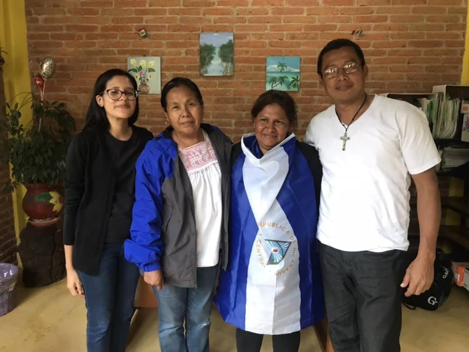 Caravana de solidaridad con Nicaragua está en México. Foto/Cortesía