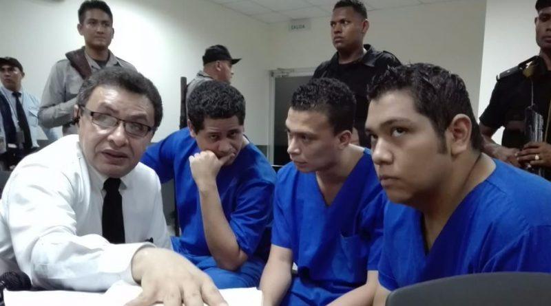 Juez orteguista condena a 17 años y 6 meses de prisión a jóvenes acusados de quemar Radia Ya
