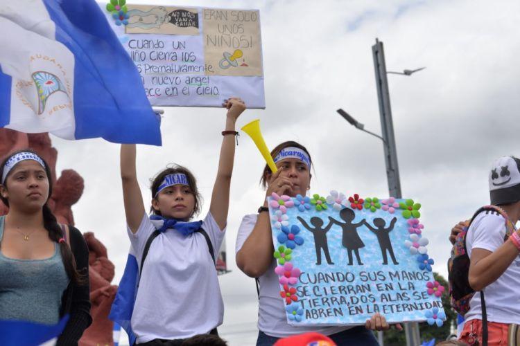 Informe de la CIDH revela que en Nicaragua han sido asesinadas más niñas y niños que policías. Foto/LaPrensa