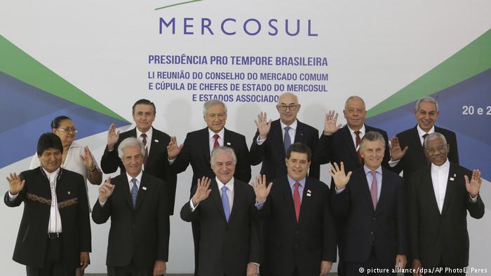 Mercosur repudia la represión de la dictadura de Daniel Ortega