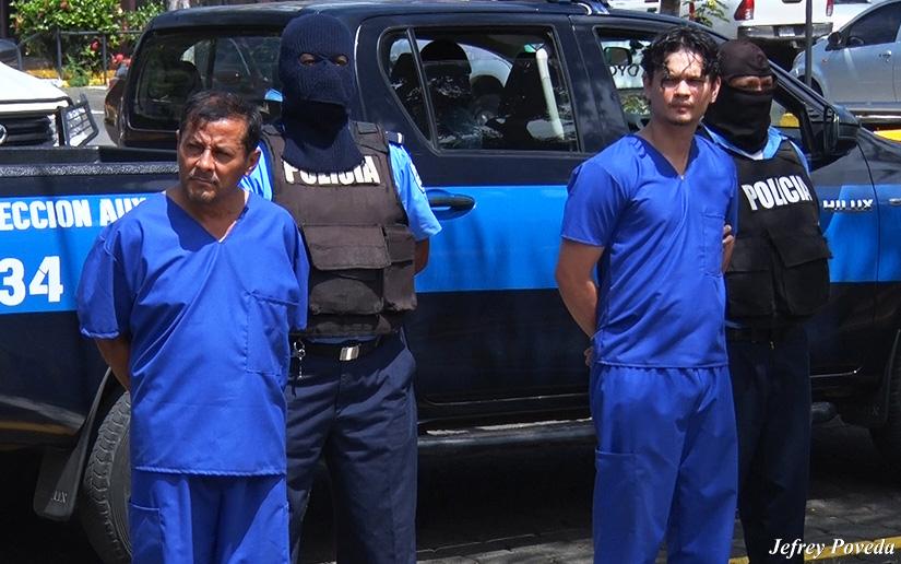Padre del activista Yaser Morazán acusado por desnudar y torturar a un joven en Matagalpa. Foto/19digital