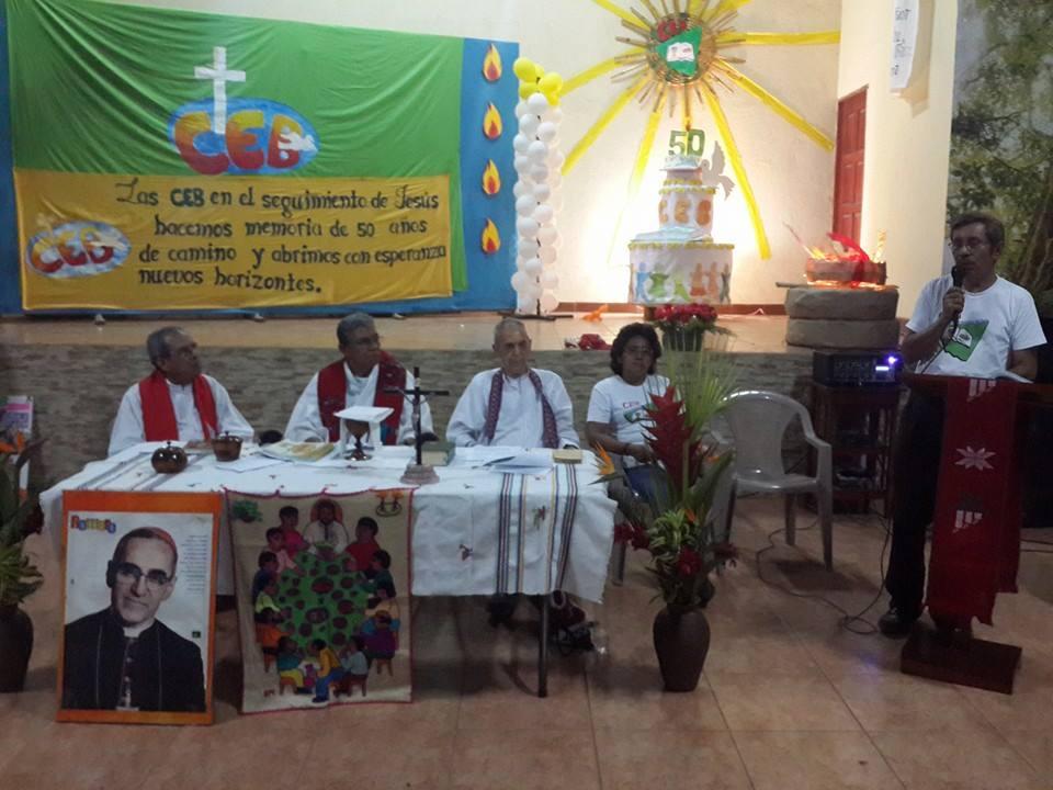 Diversas Comunidades Eclesiales de Base de Managua respaldan labor de los Obispos de Nicaragua. Foto/Cortesía
