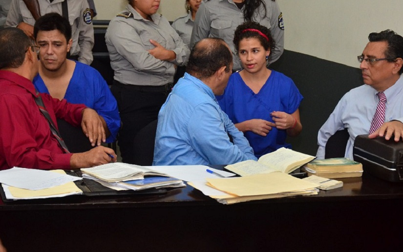 Tribunales orteguistas aceptan acusación de terrorismo contra Amaya Coppens y ordenan juicio oral y público. Foto/19digital