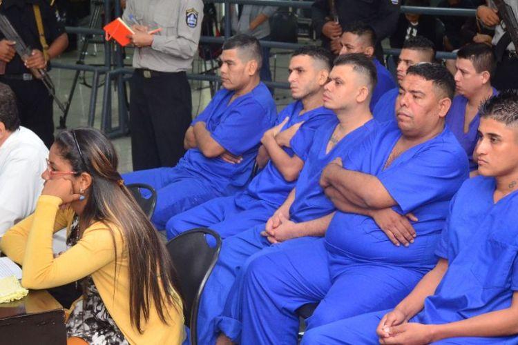 Presos políticos condenados a 24 años de prisión. Foto: tomada de La Prensa