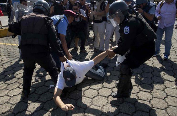 ONU destaca aumento de hostigamiento y represión en Nicaragua. Foto: EFE