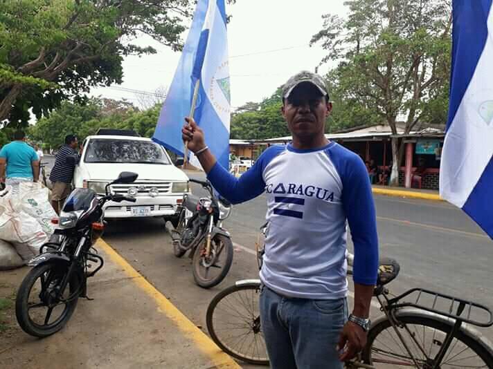 Dictadura mantiene desaparecido al líder anticanal de Rivas, Ronald Henríquez. Foto: Cortesía