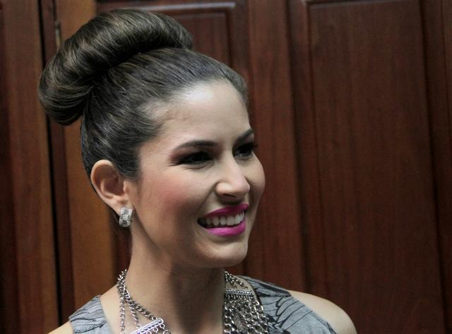 Xiomara Blandino también se lanzó con ataques virtuales contra monseñor Silvio Báez. Foto: END