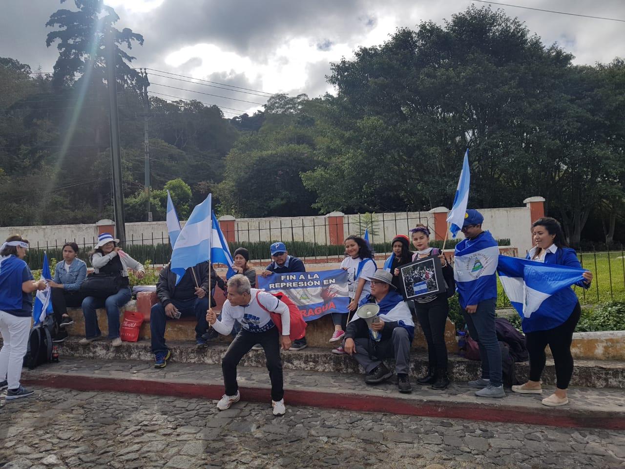 Allá lo esperan manifestaciones en su contra. Foto/Cortesía