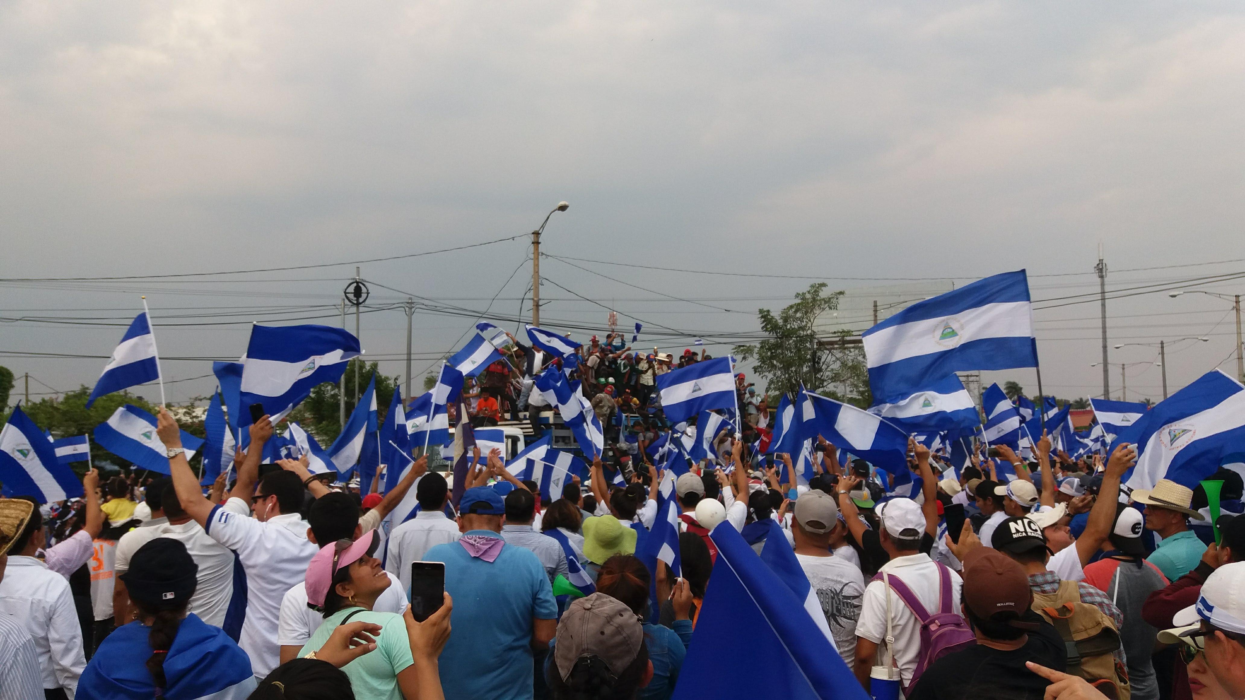 Desde el 18 de abril, los nicaragüenses siguen demandando justicia. Foto: María Gómez