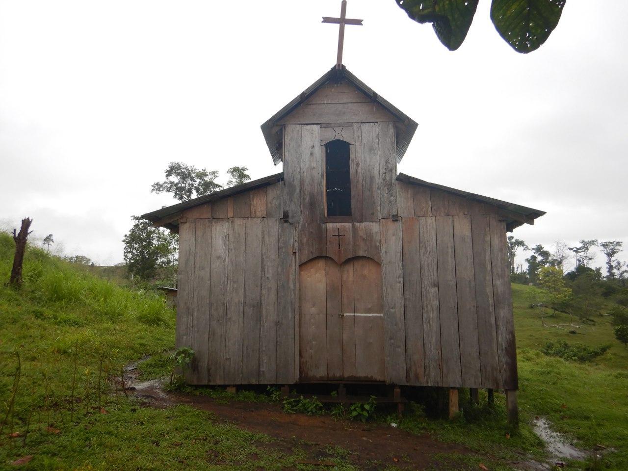 Iglesias Católicas y Evangélicas invaden la reserva Indio-Maíz. Foto/Cortesía/Fundación del Río