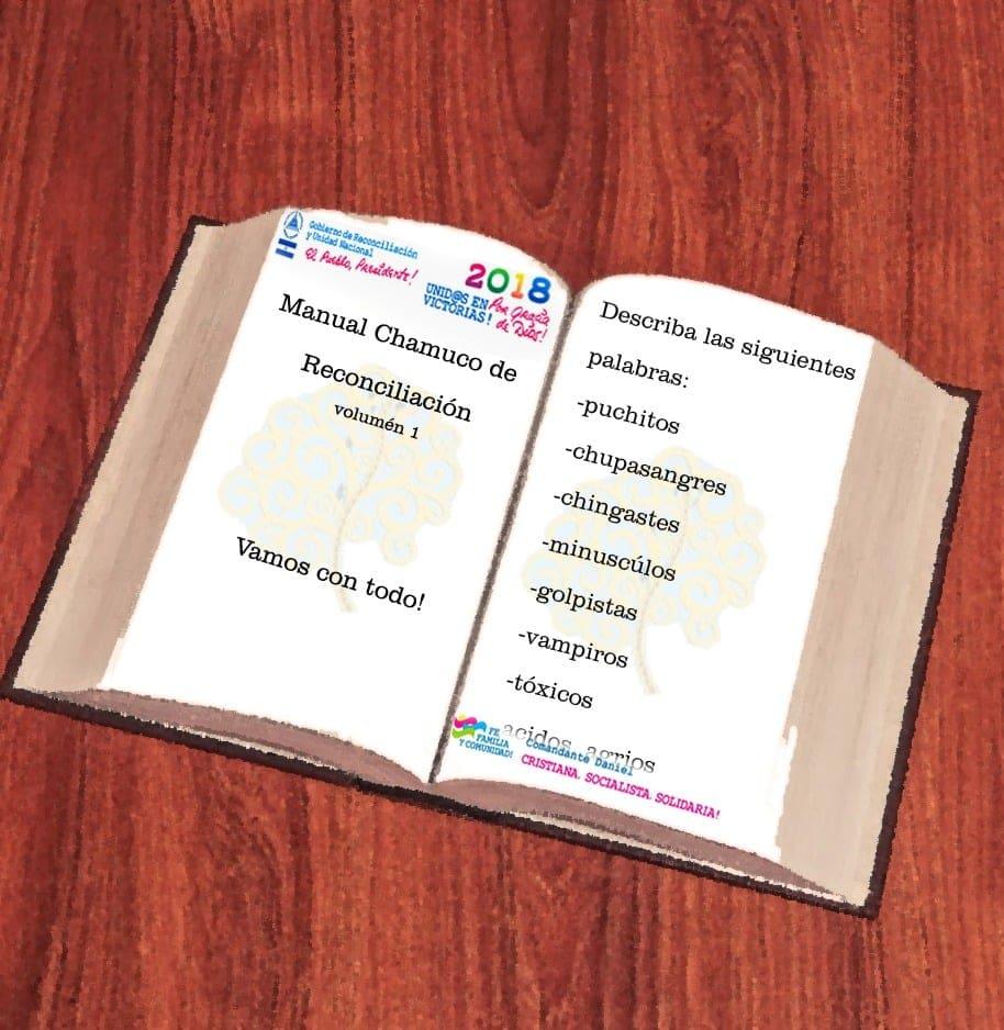 Este manual va a ser distribuido en todas las instituciones, colegios, barrios y cantinas. CaKo/Artículo66