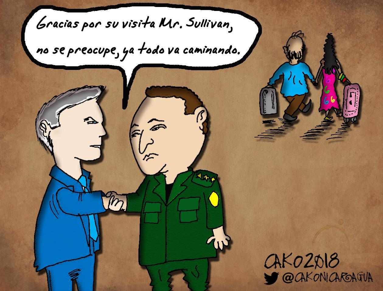 Esta obra llega gracias a la cortesía de don CaKo, caricaturista de Artículo 66.