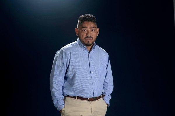 Periodista Álvaro Montalván, director y propietario de Radio Mi Voz de Léon. Foto: La Prensa