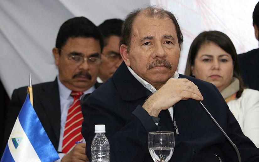 Nicaragüenses en Guatemala preparan plantón contra Daniel Ortega. Foto/Cortesía