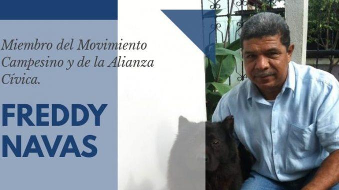 Sigue sin conocerse el paradero del líder anticanal Freddy Navas