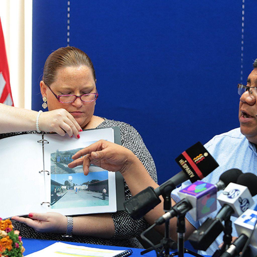 Ministerio de Gobernación entrega informe sobre presos políticos a la «Comisión de la verdad». Foto/19digital
