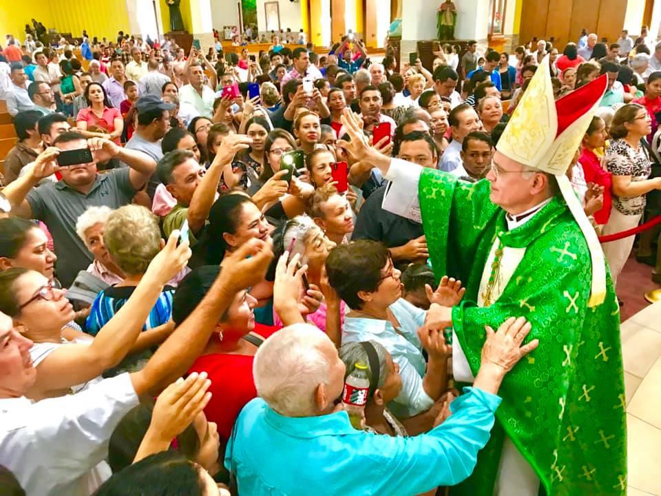 Latinobarómetro 2018: 69 % de los nicaragüenses confían en la Iglesia. Foto: Cortesía