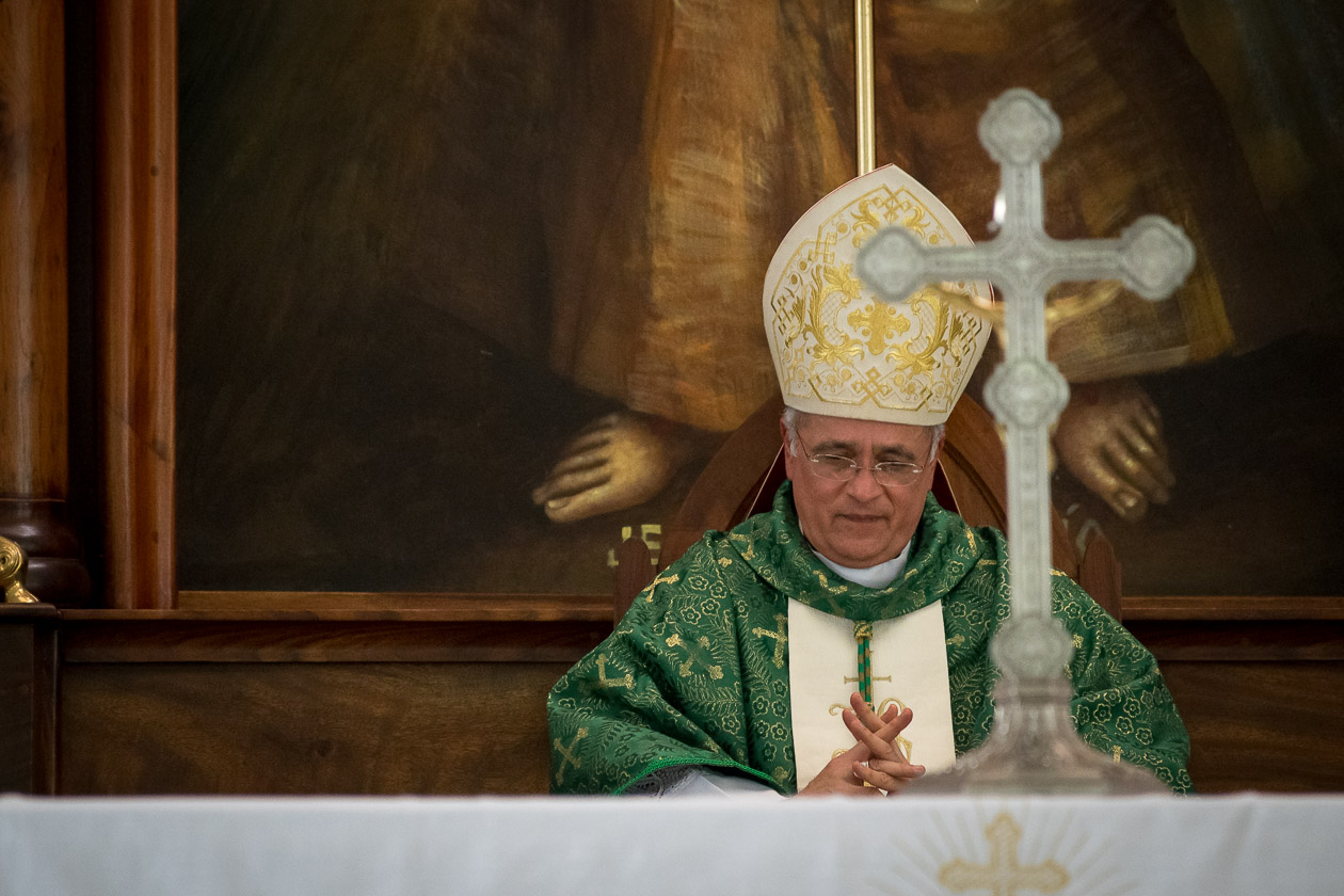 """Monseñor Silvio Báez: """"Solo Dios es eterno"""". Foto: Confidencial/Archivo"""