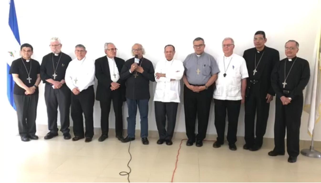 """Los Obispos de Nicaragua, al pueblo: """"Cuenten siempre con nosotros"""""""