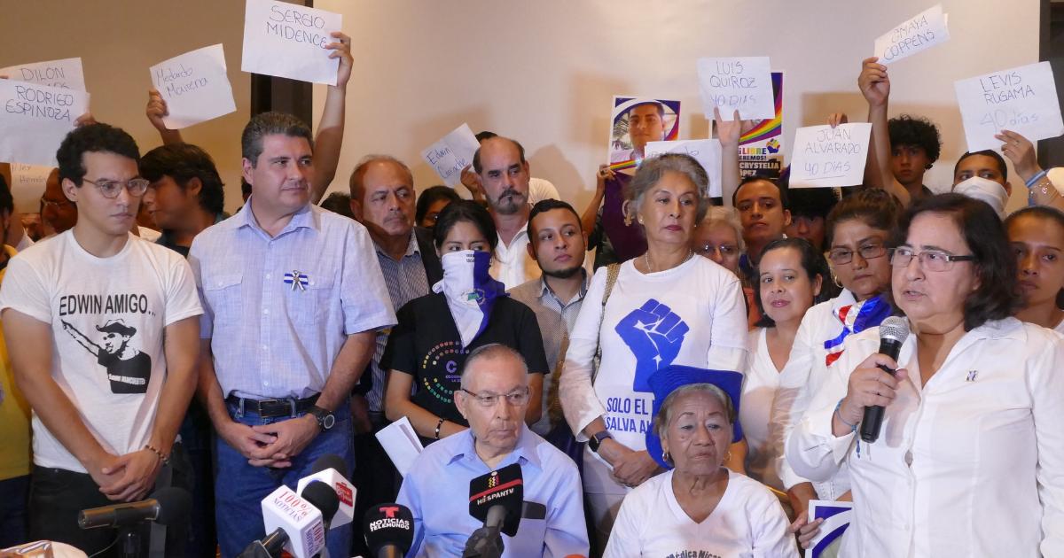 Unidad Nacional Azul y Blanco desmiente «leyenda» orteguista de golpe de Estado.Foto/OL